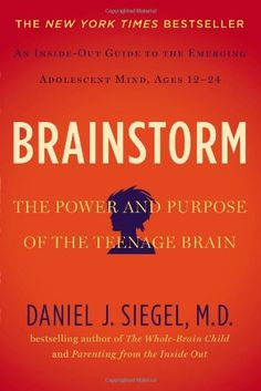 Heard EXCELLENT things about this book - Brainstorm: The Power and Purpose of the Teenage Brain by Daniel J. Siegel MD