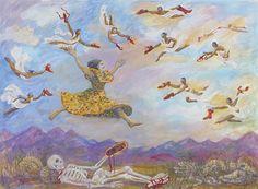 Shoshanah Dubiner, Red Shoes Heavenly Messengers