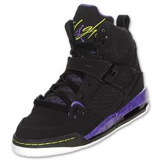 sale retailer 32355 3628d Jordan Flight 45 Trek - Big Kids - Basketball - Shoes -  Black White Anthracite Stealth. I want these soooo bad!