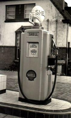 Station-service - Photos anciennes et d'autrefois, photographies d'époque en noir et blanc