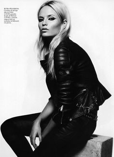 Natasha Poly by Lachlan Bailey for Vogue Espana, Nov 2011 - she's a model goddess. #fashion #editorial