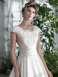 For every bride, there is a perfect wedding dress waiting to be discovered. it's all here at Maggie Sottero. your fairytale awaits. Maggie Sottero Wedding Dresses, Wedding Dresses Plus Size, Modest Wedding Dresses, Gown Gallery, Satin Skirt, Mermaid Gown, Perfect Wedding Dress, Lace Bodice, Bridal Style