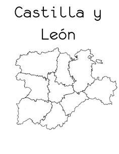 Mapas Mudos de las Comunidades Autnomas Para Imprimir