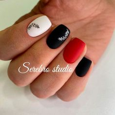 Matte Mix Colors Short Coffin Nails ❤ 30+ Outstanding Short Coffin Nails Design Ideas For All Tastes ❤ See more ideas on our blog!! #naildesignsjournal #nails #nailart #naildesigns #coffins #coffinnails #shortcoffinnails #coffinnailshapes