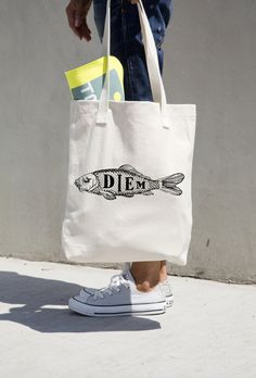 A tote bag that'll remind you to seize the day.