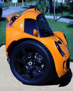 Segway racing car: