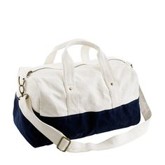 The perfect bag for a weekend trip. J.Crew $36.50