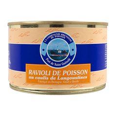 Ravioli de poisson au couli de Langoustines - La Compagnie Bretonne du Poisson - Etre Gourmand