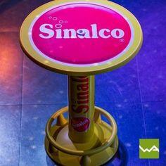 Werbestehtisch CLASSIC – Sinalco Simple