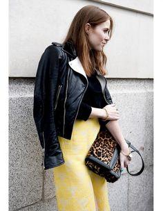 La touche de léopard - Street style : elles portent déjà les tendances de la rentrée