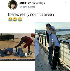 they truly are Tom and Jerry :D - kpop memes and idol friendships - Info Korea Ed Sheeran, Nct 127, K Pop, Haha, Nct Life, Funny Kpop Memes, Fandoms, Winwin, Kpop Groups