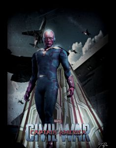 'Vision' in 'Captain America: Civil War' (2016)
