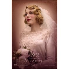 I saw The Age Of Adaline yesterday, as with a wedding, vintage clothes, hair and make up it's classified as research right?  What did you think of the movie and/or the #vintagestyle ? #theageofadaline #blakelively #1930swedding #weddingveil #julietveil