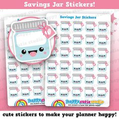 Hey, I found this really awesome Etsy listing at https://www.etsy.com/listing/563617335/30-cute-savings-jarmoney-planner