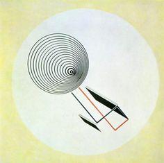 El Lissitzky, Proun 93, 1924