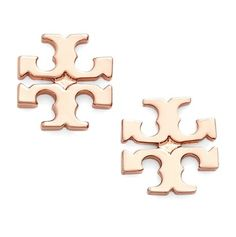 Shop Nordy Nordstrom Price Match Tory Burch Logo Stud Earrings $56.25