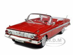 diecastmodelswholesale - 1961 Chevrolet Impala Red 1/32 Diecast Model Car by Signature Models, $14.99 (https://www.diecastmodelswholesale.com/1961-chevrolet-impala-red-1-32-diecast-model-car-by-signature-models/)