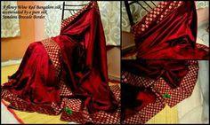 Beautiful bangalore Silk Saree on Mirraw.com