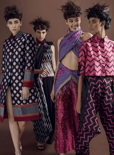 Vishesh Varma Flashes 'Dyed In The Yarn' For Harper's Bazaar India March 2016 — Anne of Carversville  http://www.anneofcarversville.com/glamtribale/2016/3/15/trul41toon2qe9bpj99a5i0rtuv106
