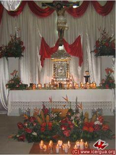 decoracion de iglesias para corpus - Buscar con Google
