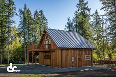 Backyard Party Barn in Damascus, Oregon | DC Builders
