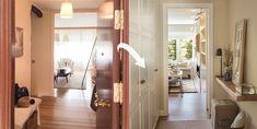 Antes y después de una reforma que unió cocina y salón Decor, Oversized Mirror, Room Divider, Furniture, Interior, Home Decor, Room, Deco
