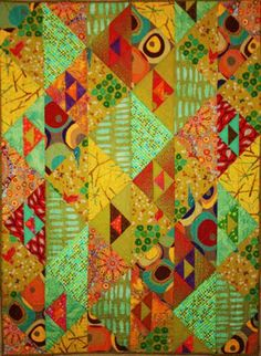 Prisms Quilt Pattern from Aardvark Quilts