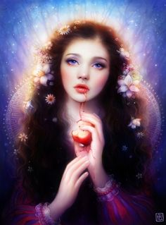 ☆ Snow White :¦: Art By ~Escume ☆