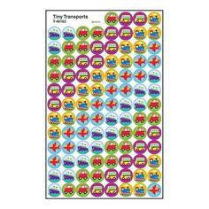 Superspots Stickers Tiny Transport