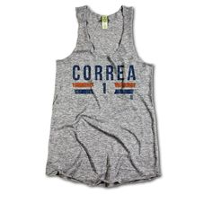Carlos Correa MLBPA Officially Licensed Houston Womens Tank Top S-XL Carlos Correa Font B