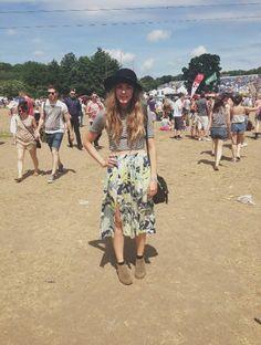 #SOCIALSTYLIST  Jess at Glastonbury