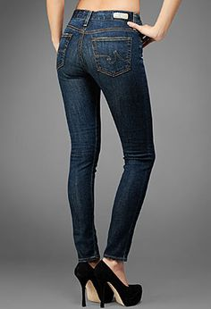 Want these high waisted skinny jeans!