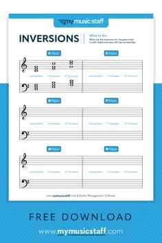 Piano Teaching Inversions activity sheet is perfect for music students of any instrument. Ideal for more advanced students who are learning about inversions, or those who need a refresher! Music Chords, Piano Music, Sheet Music, Piano Lessons, Music Lessons, Piano Practice Chart, Music Activities, Leadership Activities, Group Activities