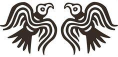 Viking Odin raven black PAIR vinyl decal by sparrowhawk9 on Etsy, $5.00