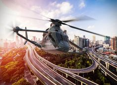 at the paris air show 2017, airbus helicopters unveils the aerodynamic configuration of its high speed concept in development as part of the clean sky 2 european research programme.