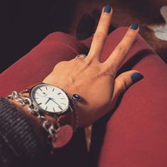 Blaue Phase ️ @balbertime  #accessories #accessory #armcandy #balber #balbtertime #blue #colorful #details #instadaily #instagood #instainspo #nails #nailsofinstagram #tiffany #watch #watches #watchesofinstagram