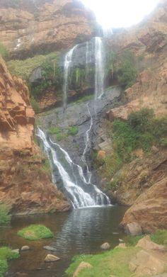 Waterfall at Walter Sisulu Botanical gardens. Hiking Trails, Botanical Gardens, Waterfall, Africa, Explore, World, Travel, Outdoor, Outdoors