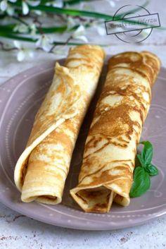 Zdjęcie: Biszkoptowe naleśniki z serem i malinami Ethnic Recipes, Food, Diet, Recipes, Eten, Meals
