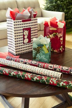 Hallmark's Eclectic Kraft gift wrap collection offers unique ...