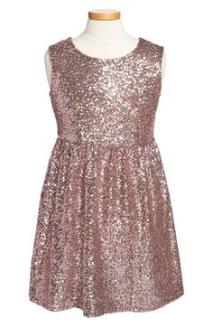 Free shipping and returns on Be Bop Fishbowl Sleeveless Sequin Dress (Big Girls) at Nordstrom.com. Flashy allover sequins bring unmistakable glam attitude to a sleeveless shift dress.