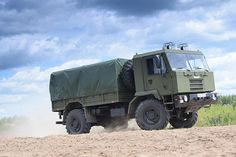 The tactical truck is manufactured by Belarusian OJSC Minsk Wheeled Tractor Plant (MZKT). Image courtesy of MWTP. Border Security Force, Tactical Truck, Armed Forces, Military Vehicles, Tractors, Army, Trucks, Technology, Armored Vehicles