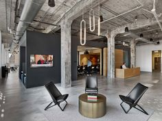 Mullenlowe ad agency office in Winston-Salem, us by TPG Architecture.