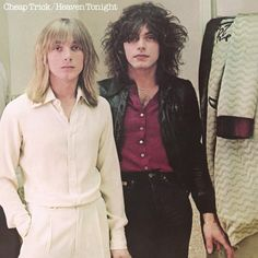 Cheap Trick Heaven Tonight on LP When Cheap Trick burst onto the music scene in the 1970s, they broke new ground with a punkish, hard-edged brand of literate garage rock that was the perfect antidote