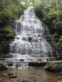 Benton Falls, Cherokee National Forest, Tennessee