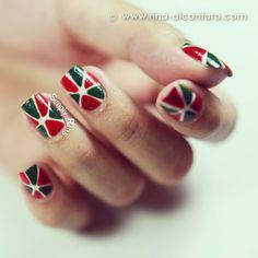 christmas by simplyrins #nail #nails #nailart