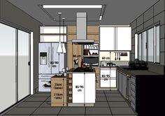 Cozinha corte-medidas