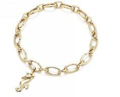 262ab97f2d5e Tiffany   Co Outlet Seahorse Gold Link Clasp Bracelet Half off
