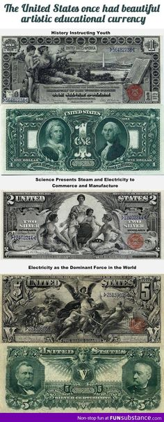 Old and beautiful currency