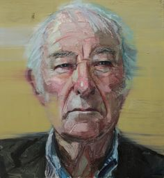 Colin Davidson - Seamus Heaney (Between The Words 2013) 2012 oil on linen 127 x 117 cm