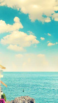 Beautiful shades of sea